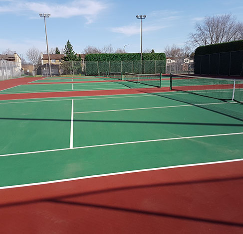 General Burns Tennis Club Courts
